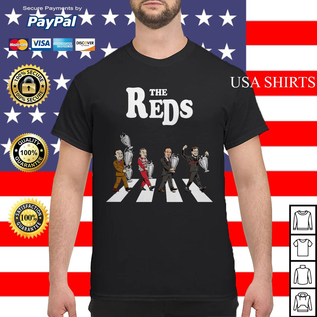 The Reds the coach Liverpool Abbey Road shirt