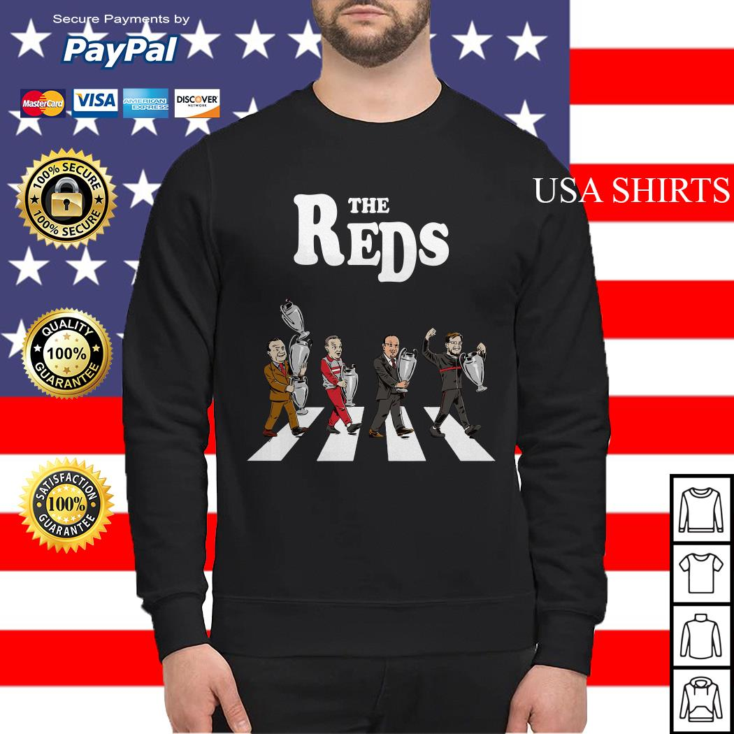 The Reds the coach Liverpool Abbey Road Sweater