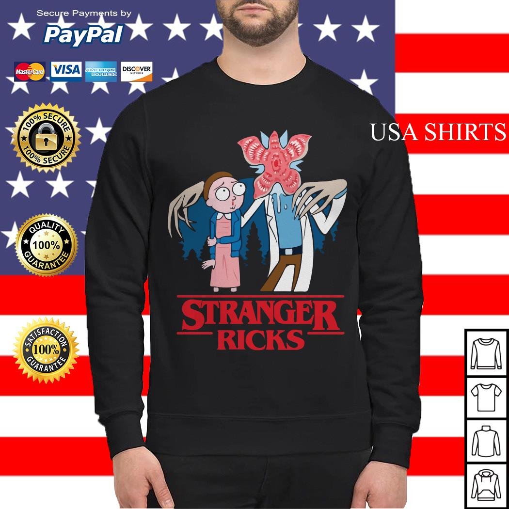 Rick and Morty Stranger things Sweater