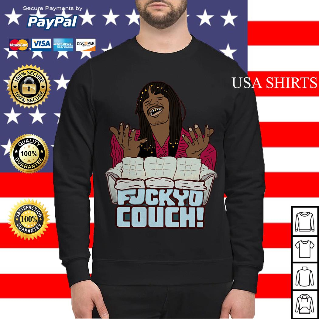 Rick James Fuckyo Couch Sweater