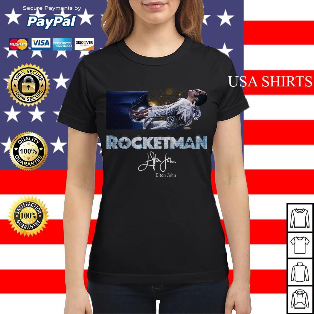 Rocketman Elton John signature Ladies tee