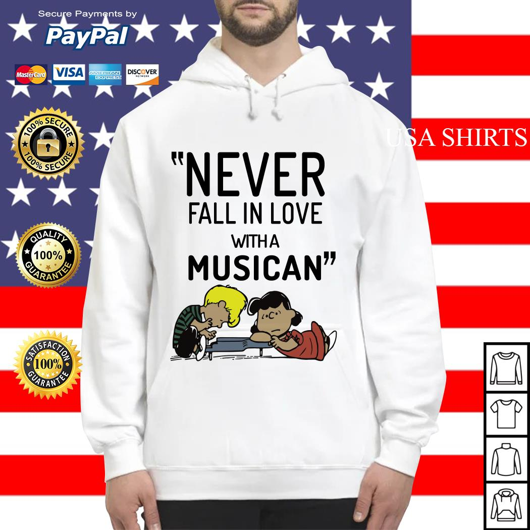 Schroeder never fall in love with a musician Hoodie