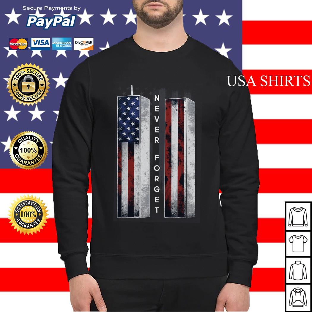 September 11 we will never forget 4th of July Sweater