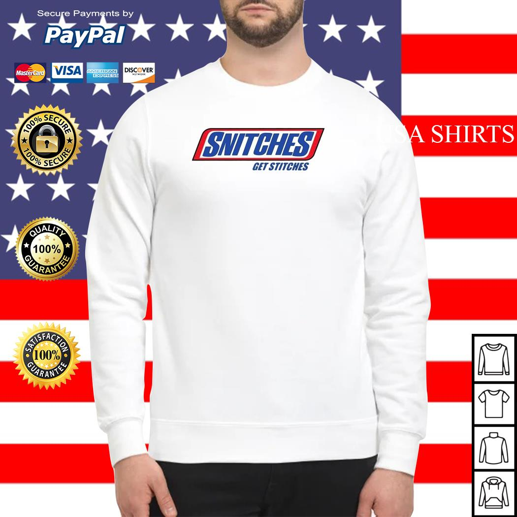 Snitches Get Stitches Sweater