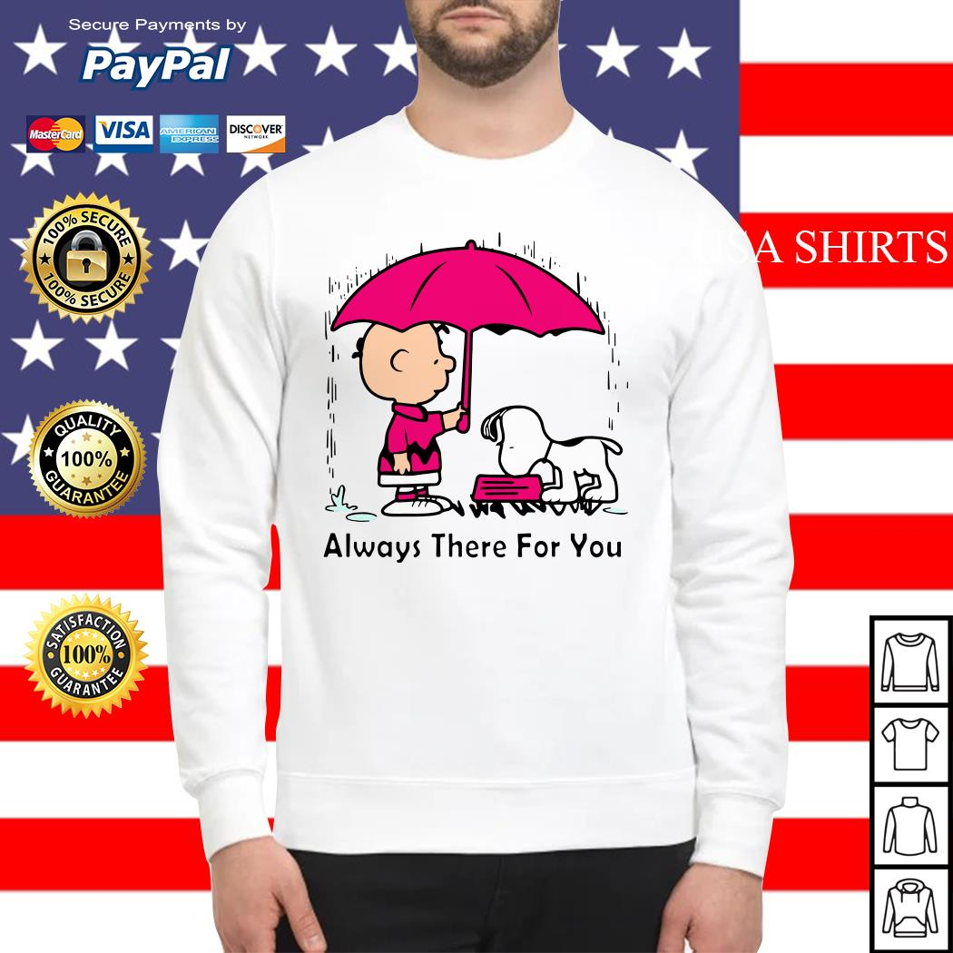 Snoopy and Chair Brown always there for you Sweater