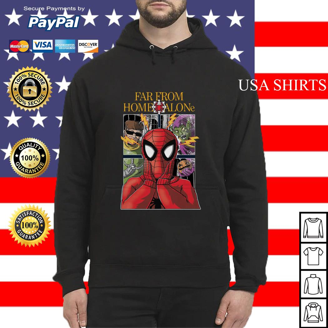 Spider-Man far from home alone Hoodie