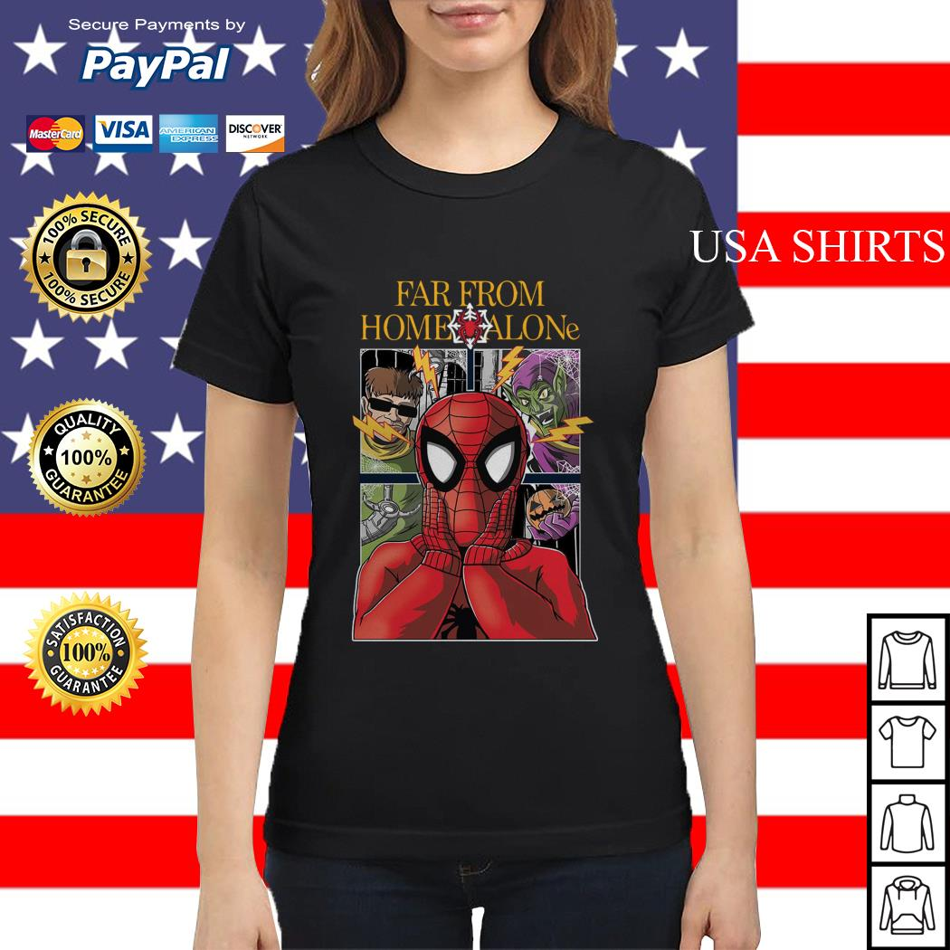 Spider-Man far from home alone Ladies tee