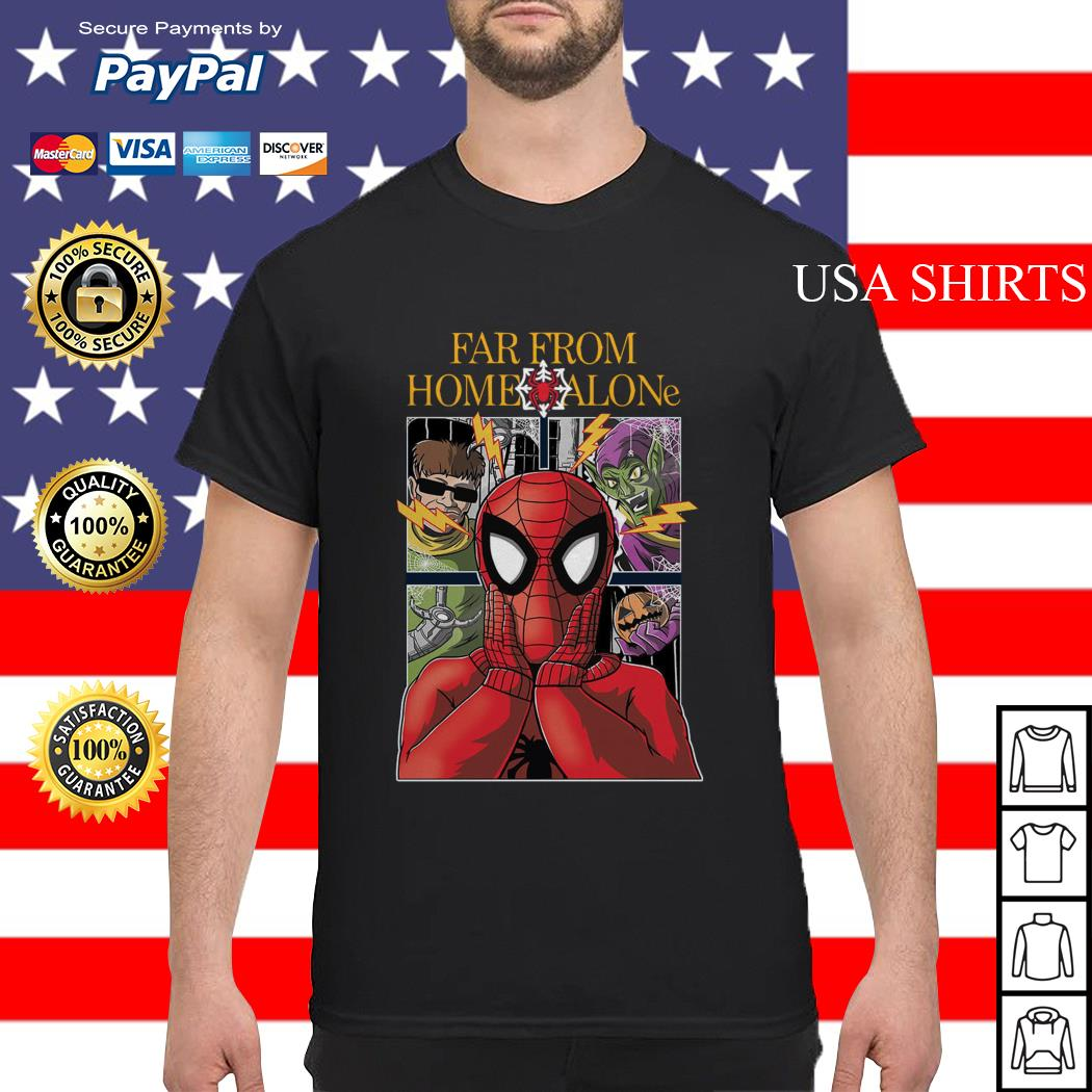 Spider-Man far from home alone shirt