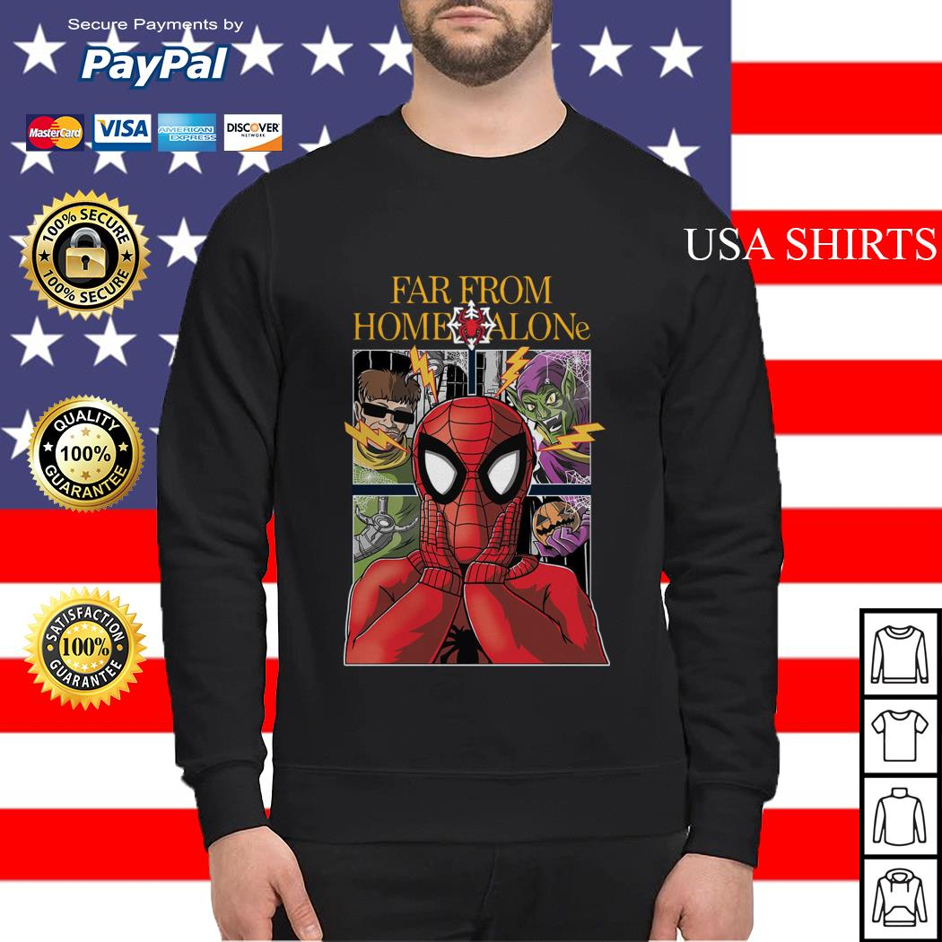 Spider-Man far from home alone Sweater