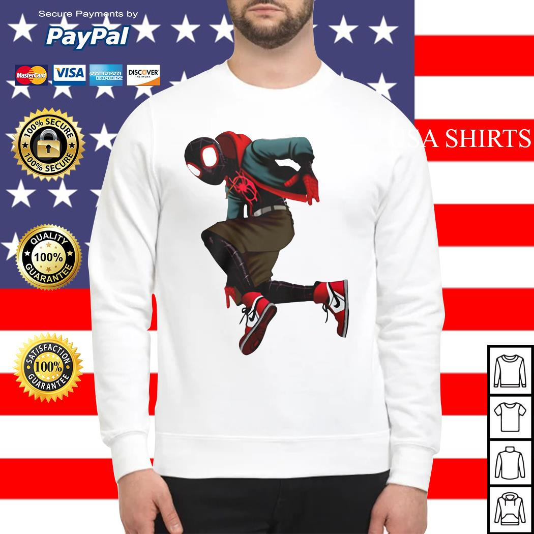 Spider-Verse Miles Morales Sweater