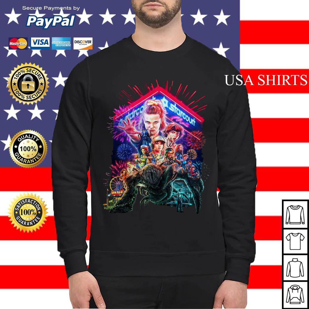 Starcourt signature Stranger Things season 3 poster Sweater