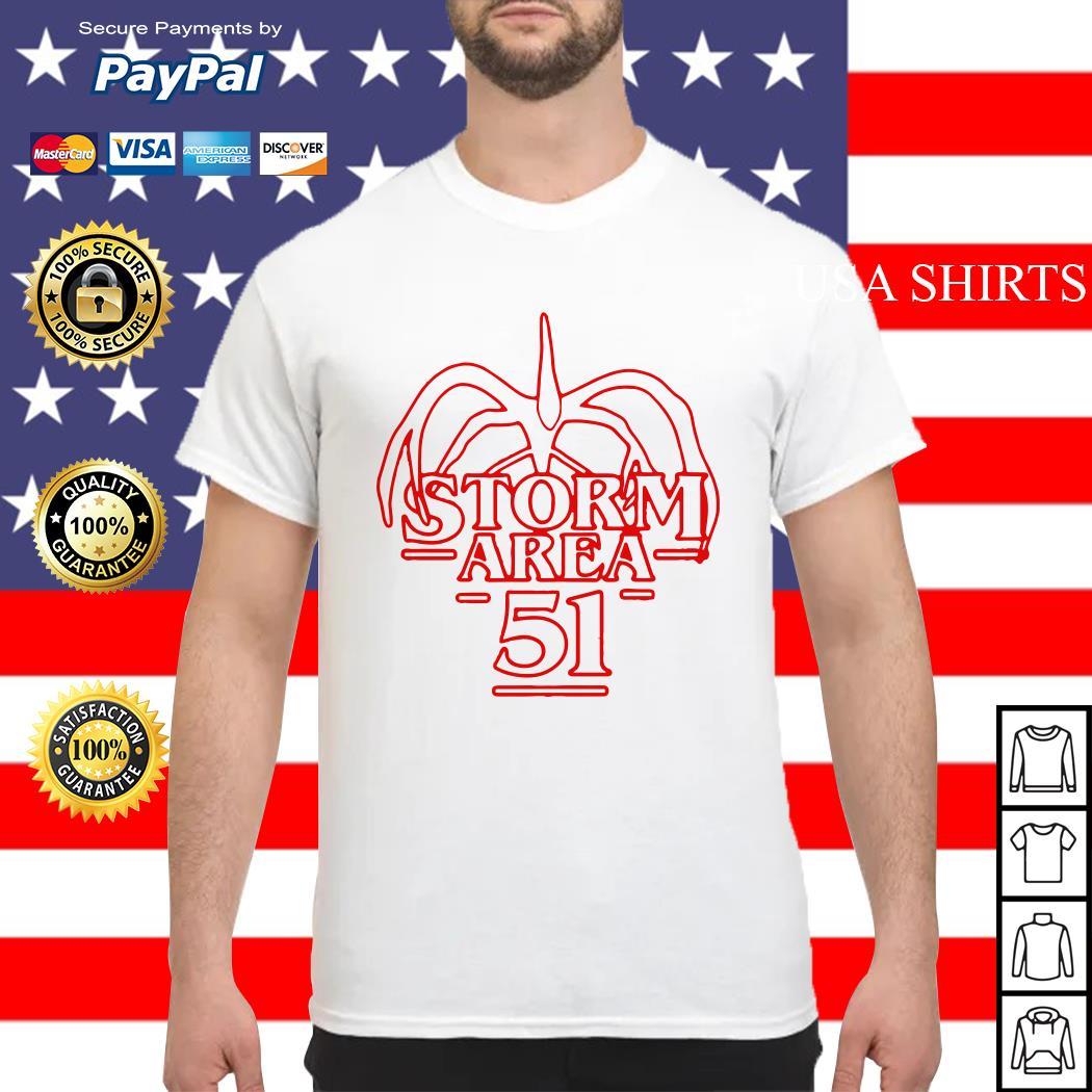 Storm Area 51 Stranger Things shirt