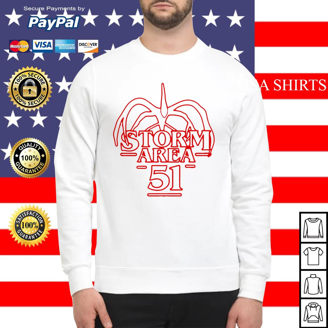 Storm Area 51 Stranger Things Sweater