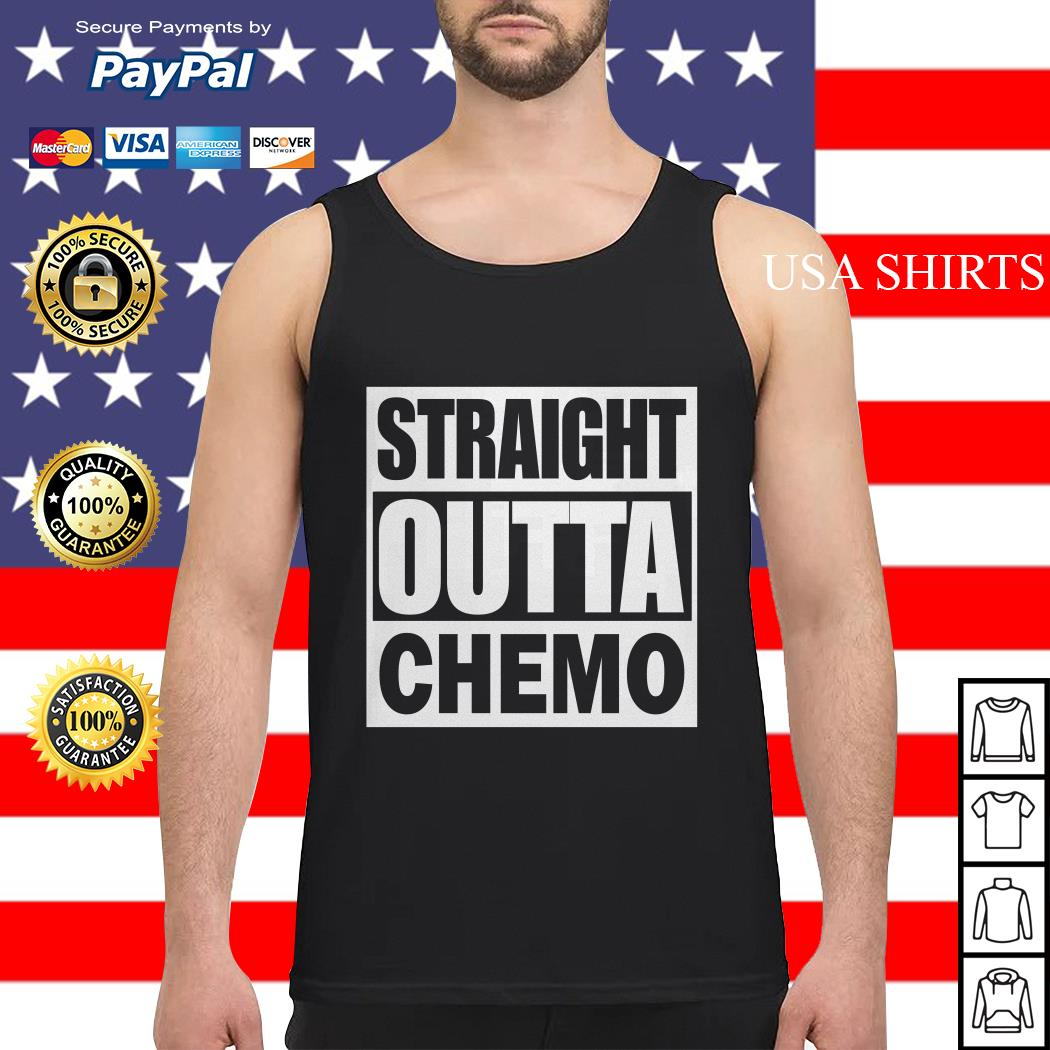 Straight outta chemo Tank top
