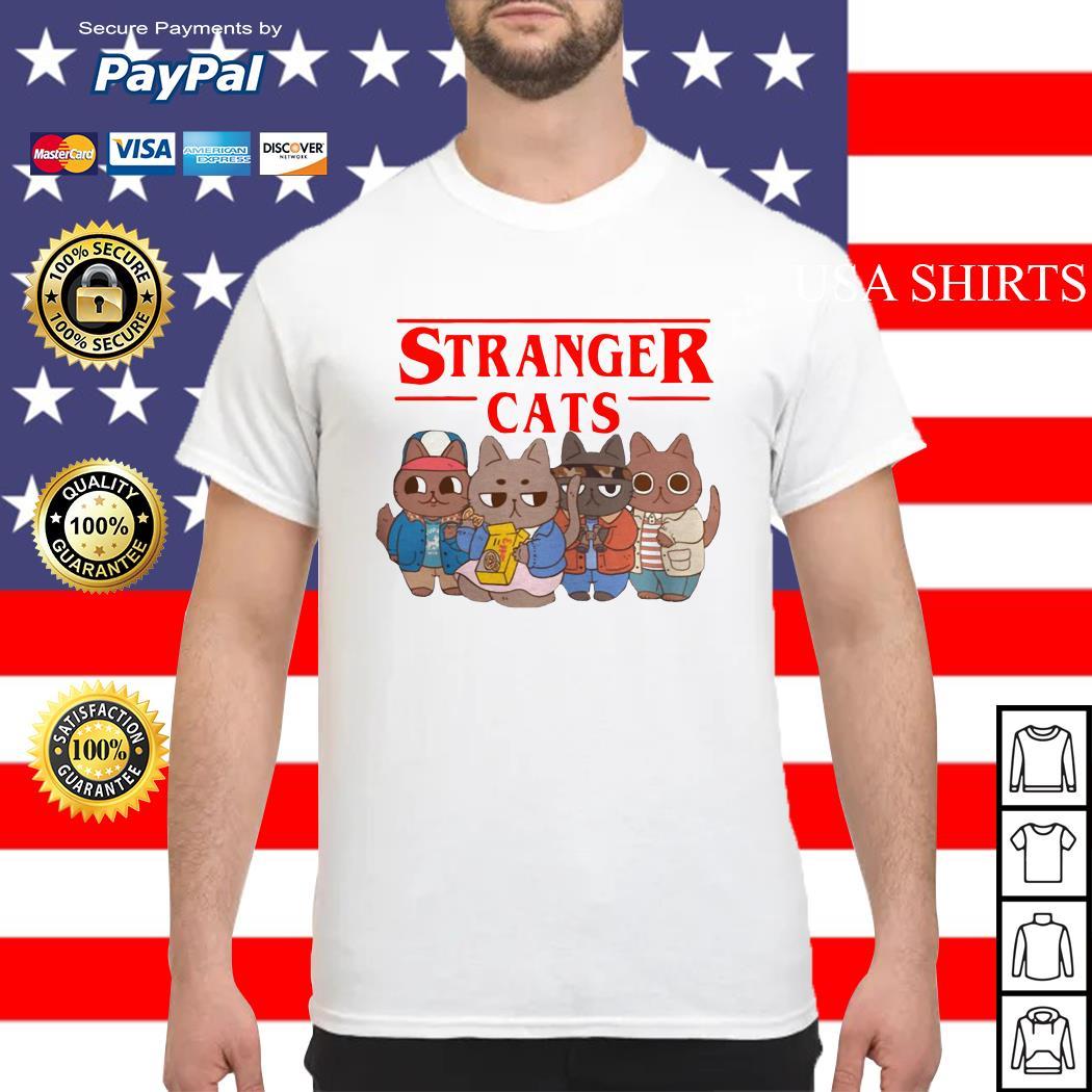 Stranger cats Stranger Thing shirt