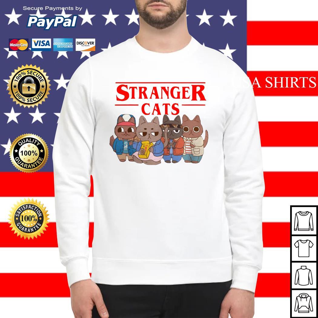 Stranger cats Stranger Thing Sweater