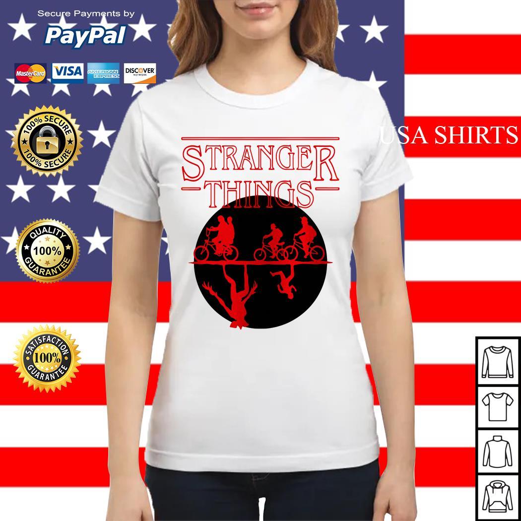 Stranger Things Bike Rides Ladies tee