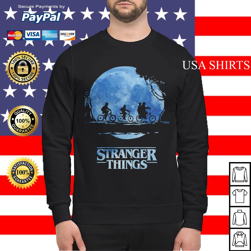 Stranger Things Dark Shadow Sweater