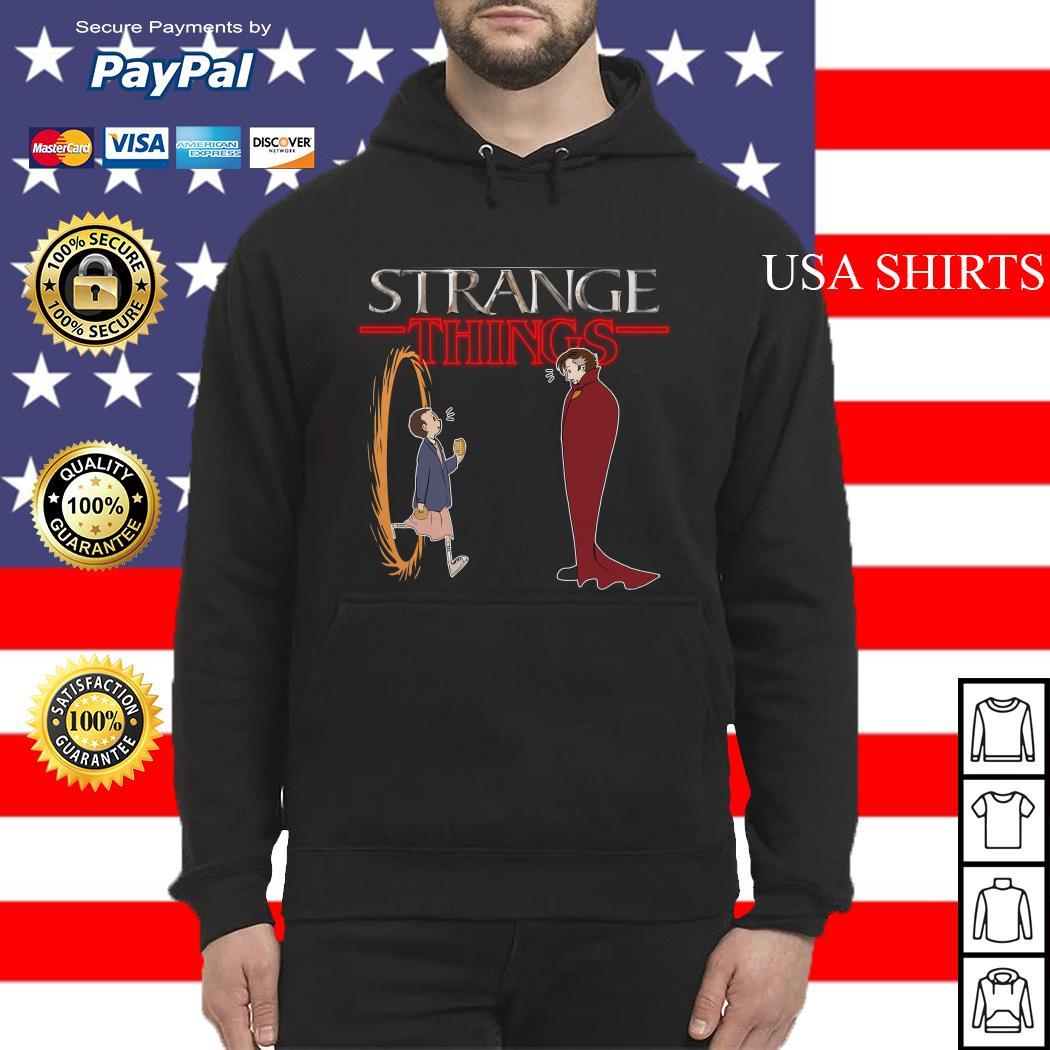 Stranger Things funny mashup Strange Things Doctor Strange Hoodie