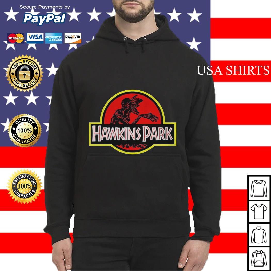 Stranger Things hawkins Park Jurassic Park Hoodie
