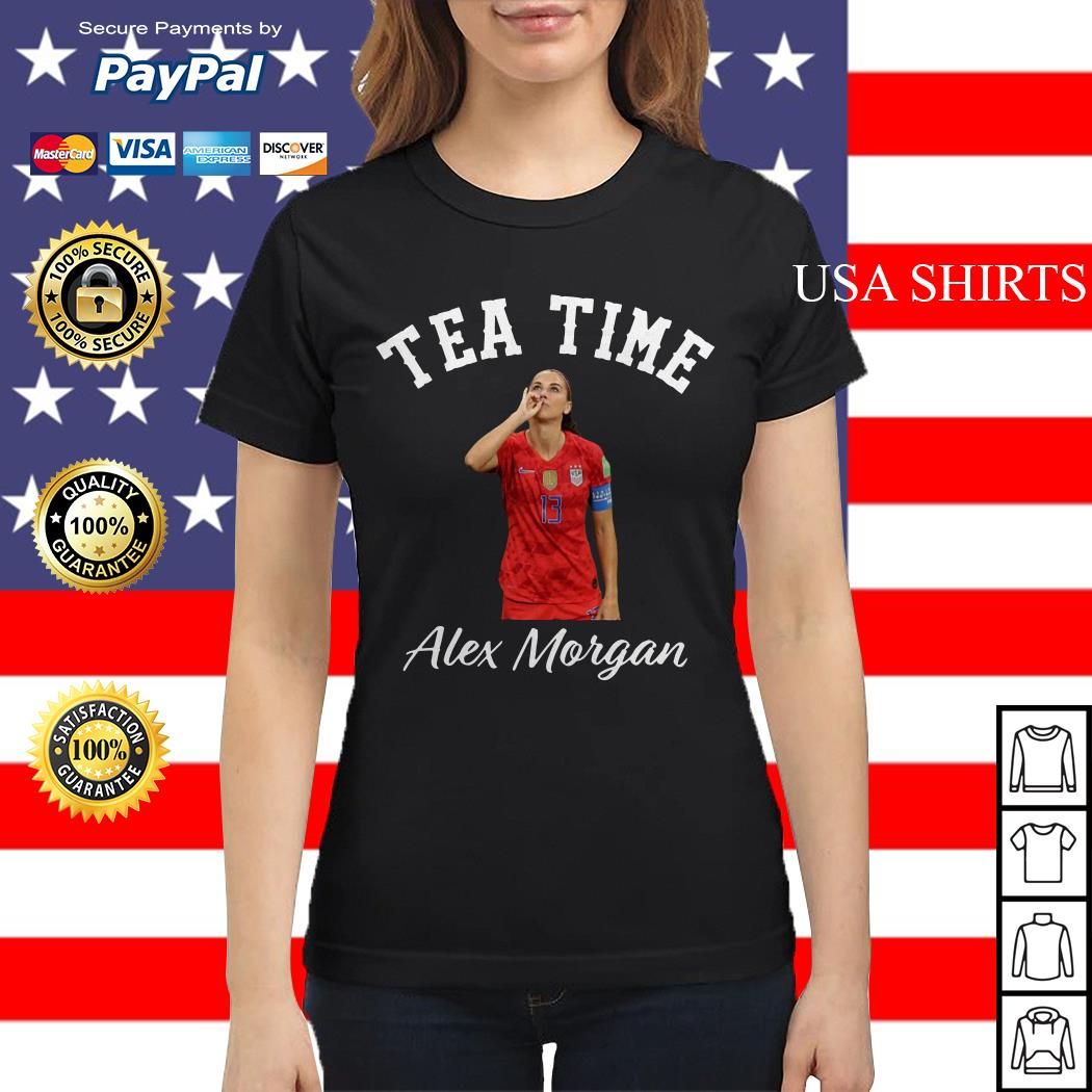 Tea time Alex Morgan Ladies tee