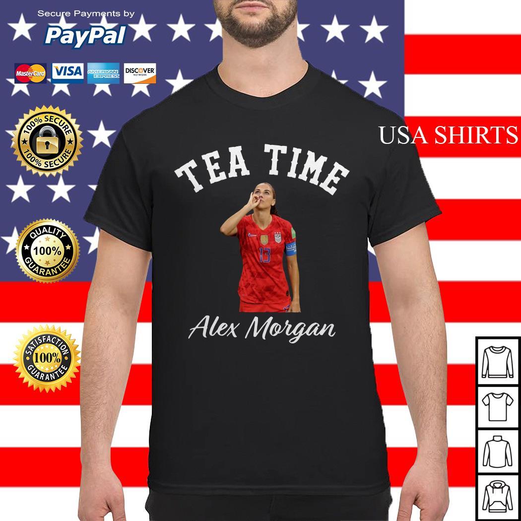 Tea time Alex Morgan shirt