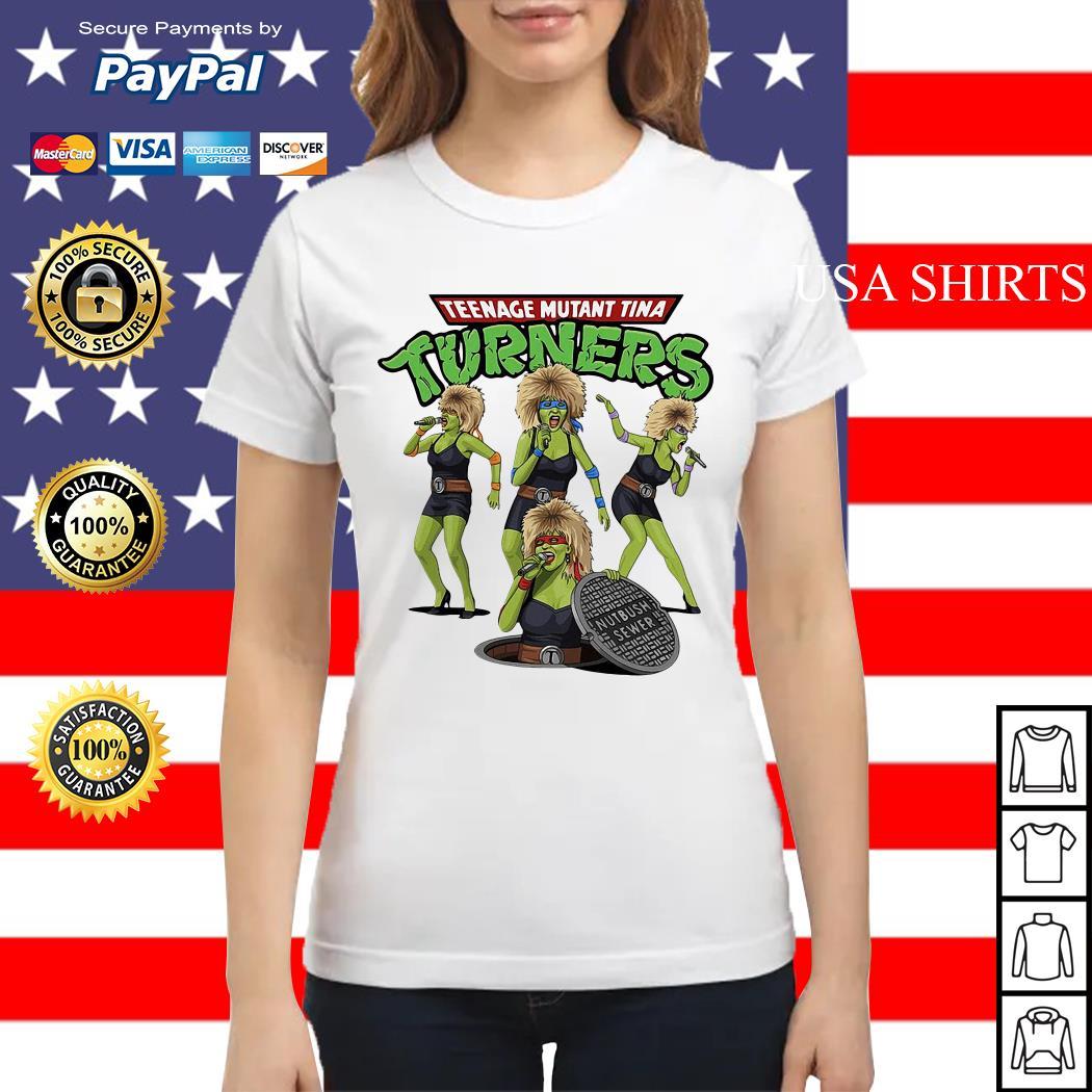 Teenage mutant Tina turners Ladies tee