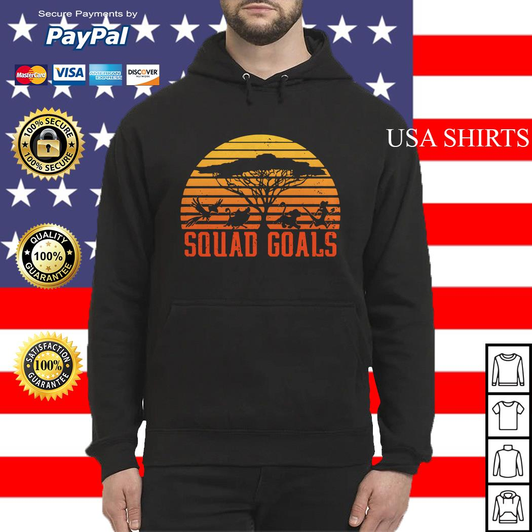 The Lion King Squad Goals sunset Hoodie