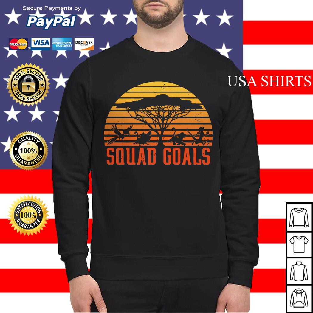 The Lion King Squad Goals sunset Sweater