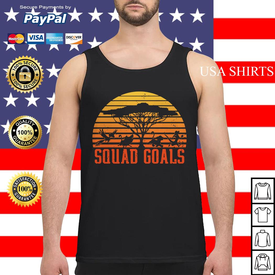 The Lion King Squad Goals sunset Tank top