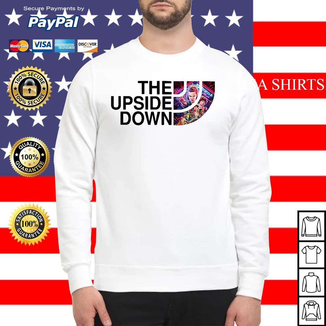 The upside down Stranger Things Sweater
