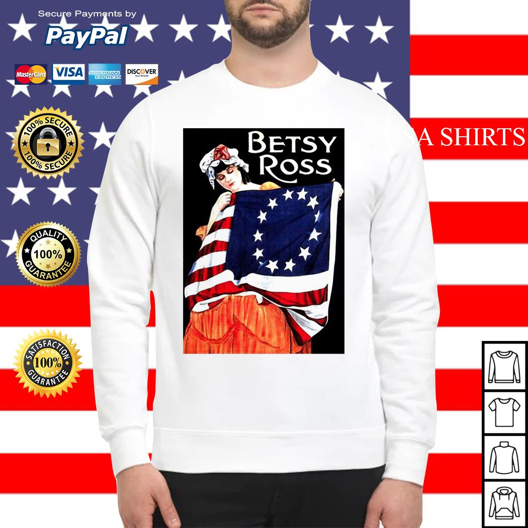 USA Betsy Ross American Flag Sweater
