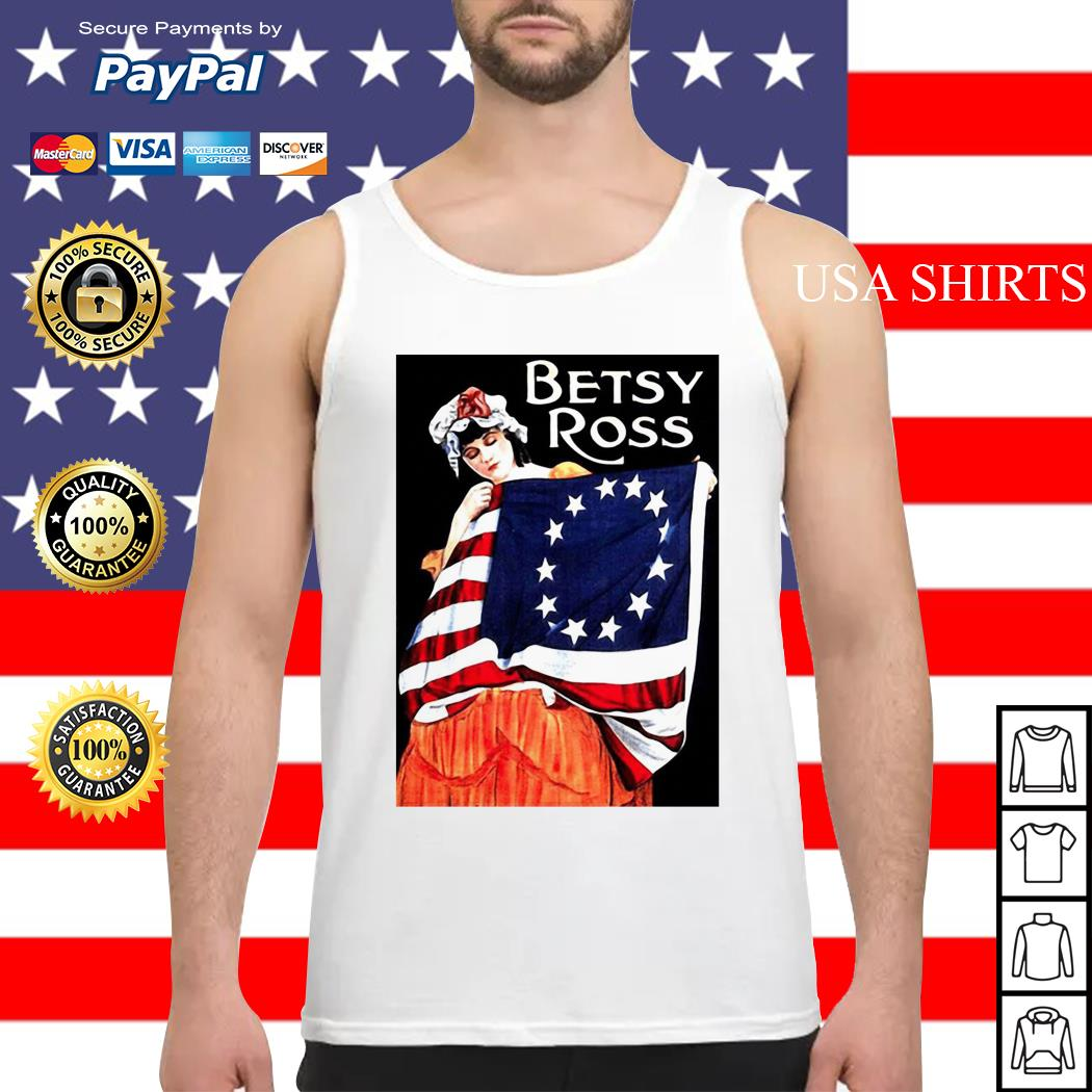 USA Betsy Ross American Flag Tank top