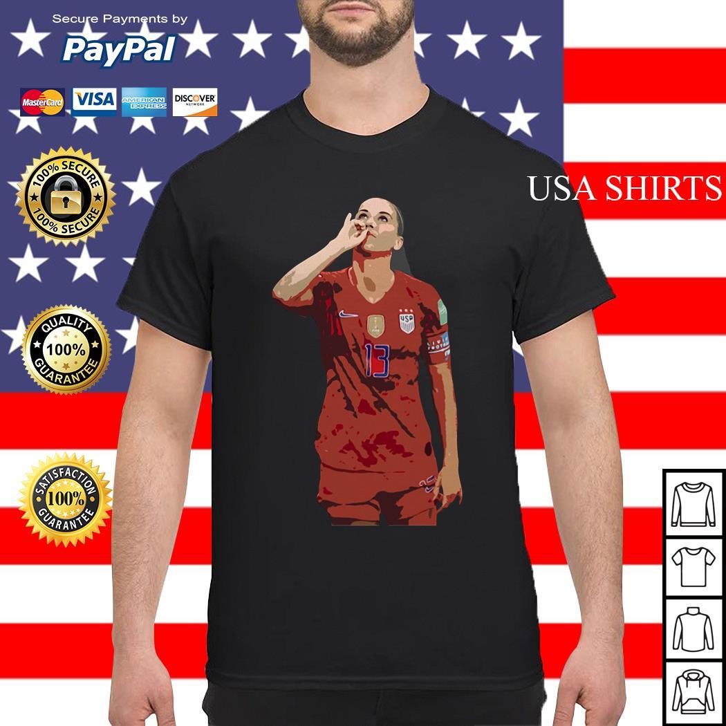 USWNT Alex Morgan 13 football shirt