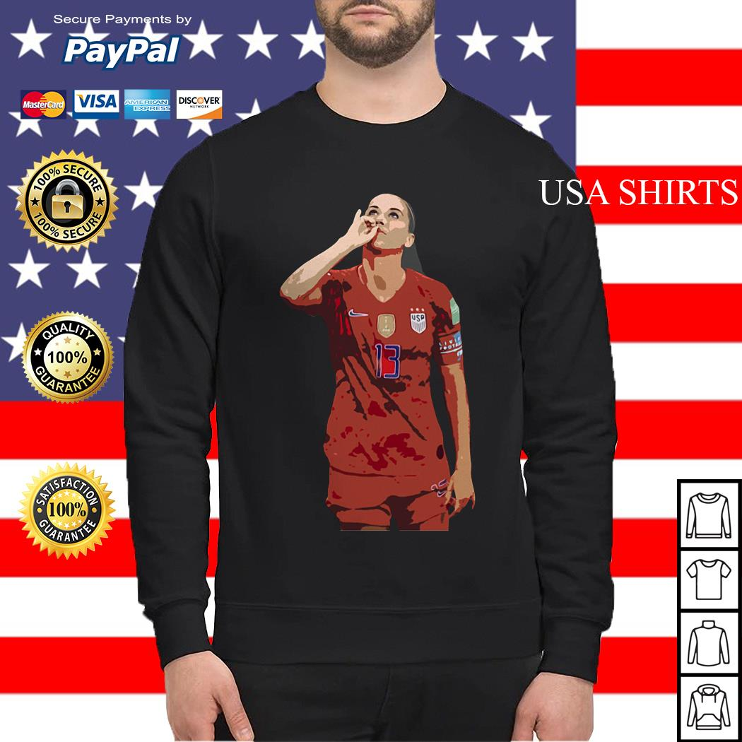 USWNT Alex Morgan 13 football Sweater