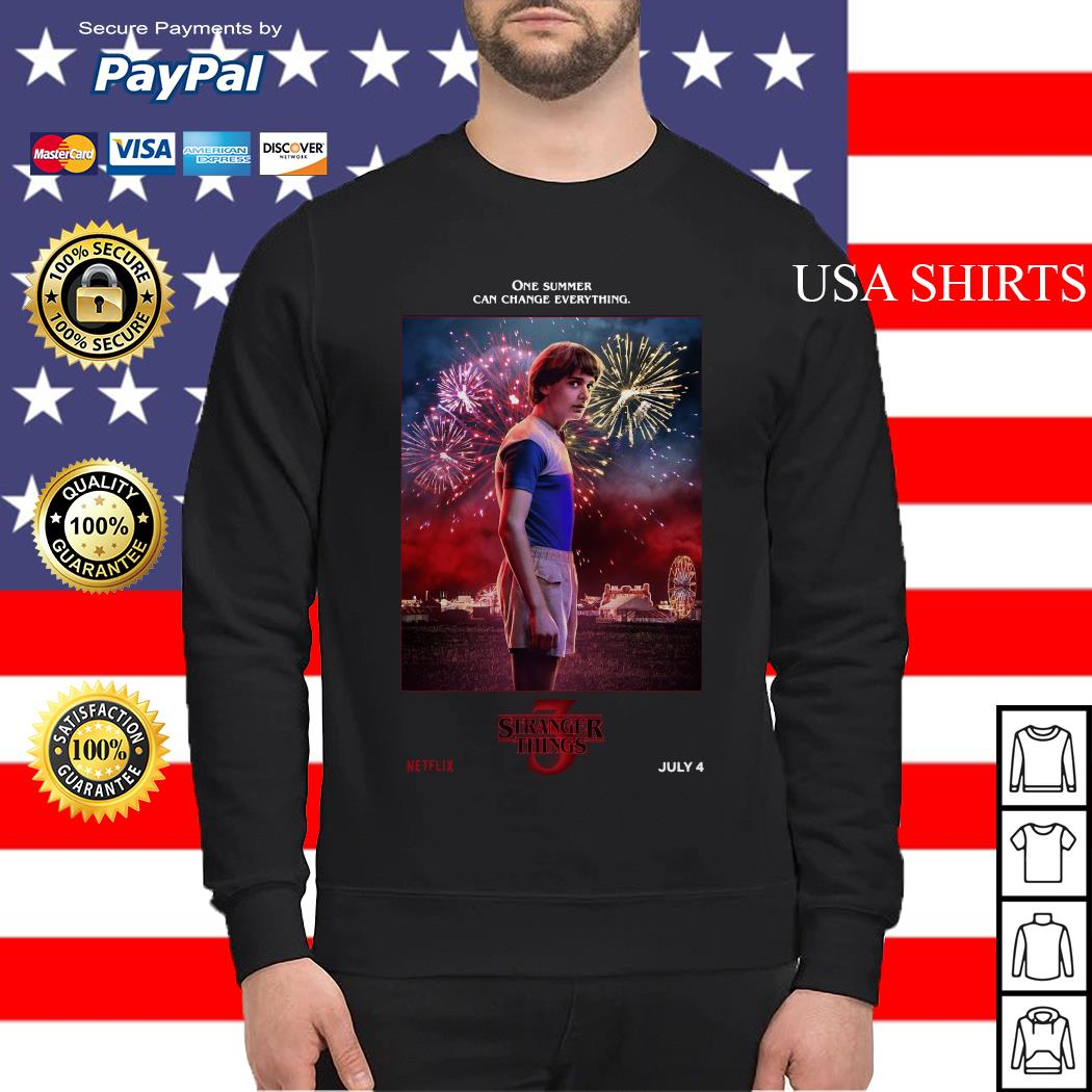 Will One Summer Can Change Everything Stranger Things Sweater
