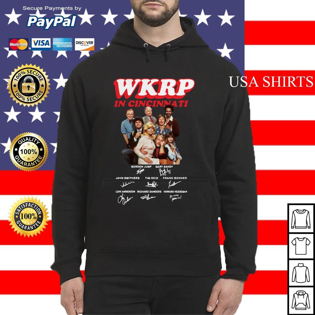 WKRP in cincinnati signature Hoodie