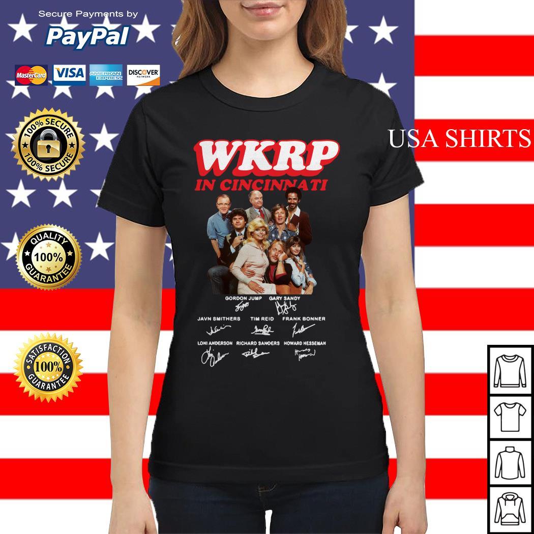 WKRP in cincinnati signature Ladies tee