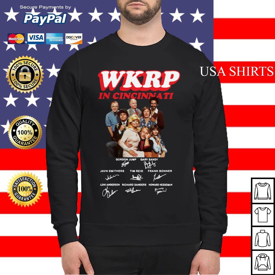 WKRP in cincinnati signature Sweater