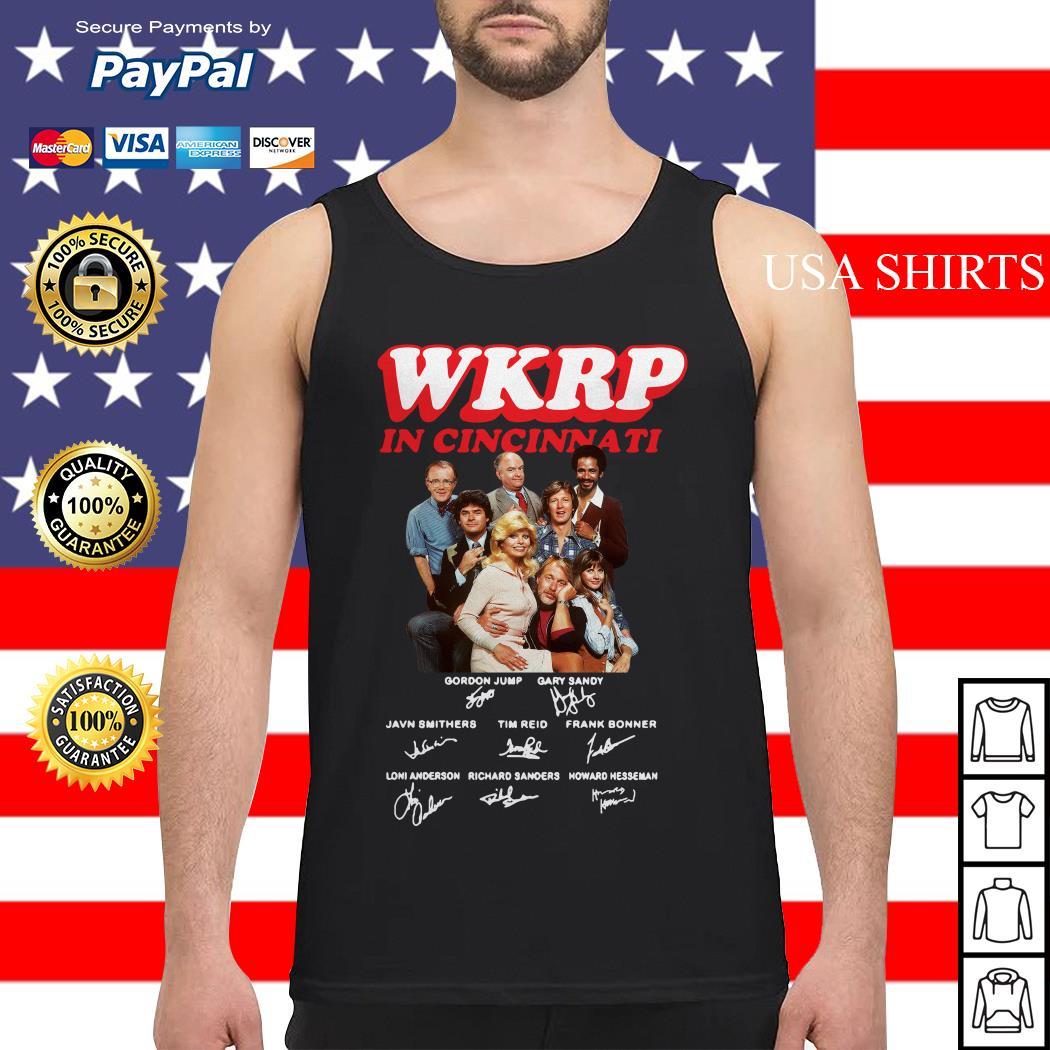 WKRP in cincinnati signature Tank top