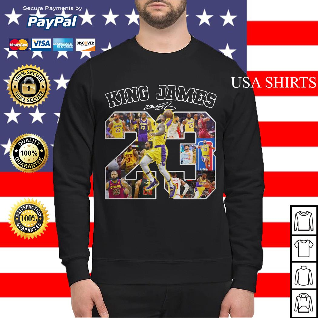 23 King James signature Sweater