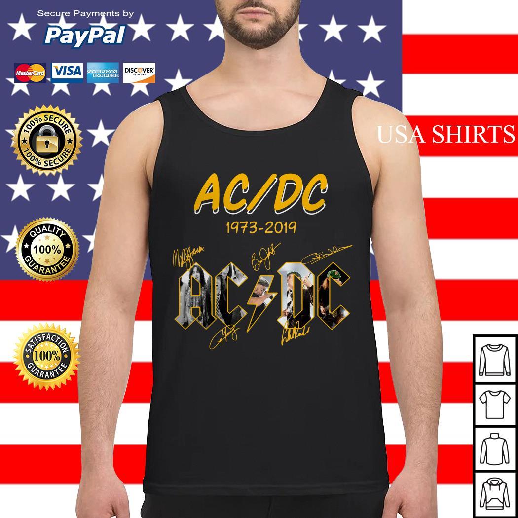 ACDC 1973 2019 signature Tank top