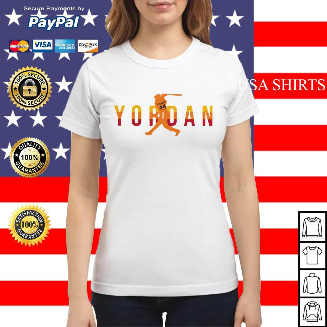 Air Jordan Yordan Alvarez Ladies tee