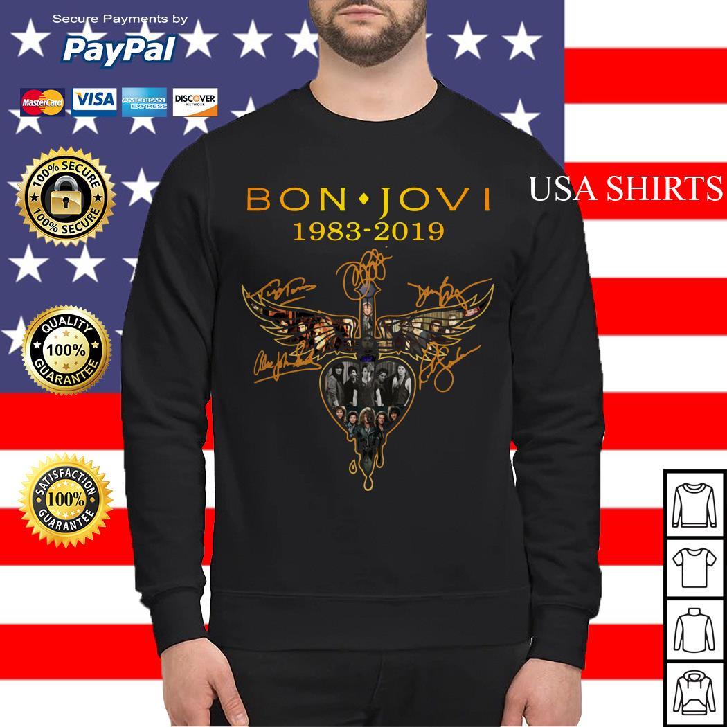 Bon Jovi 1983 2019 signature Sweater