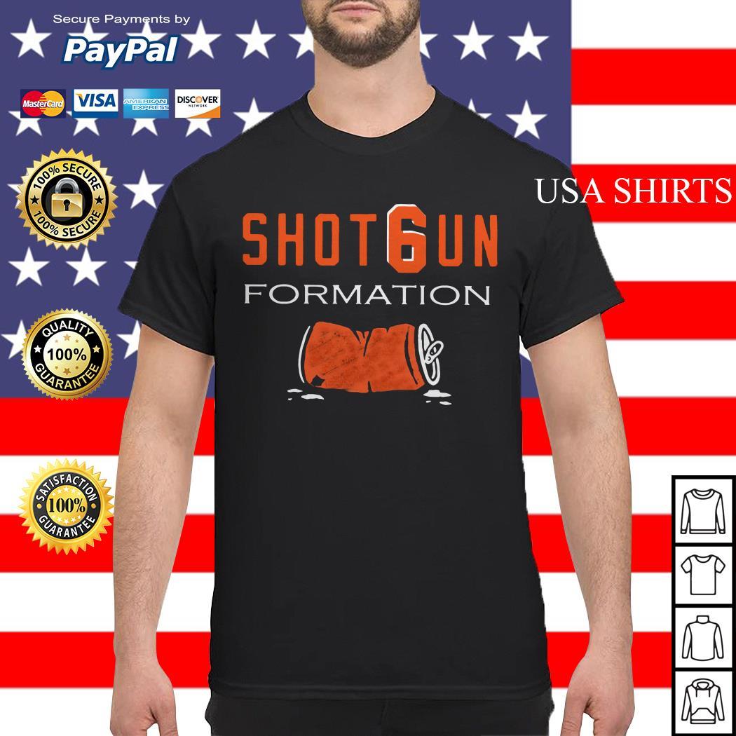 Cleveland Browns Shotgun formation shirt