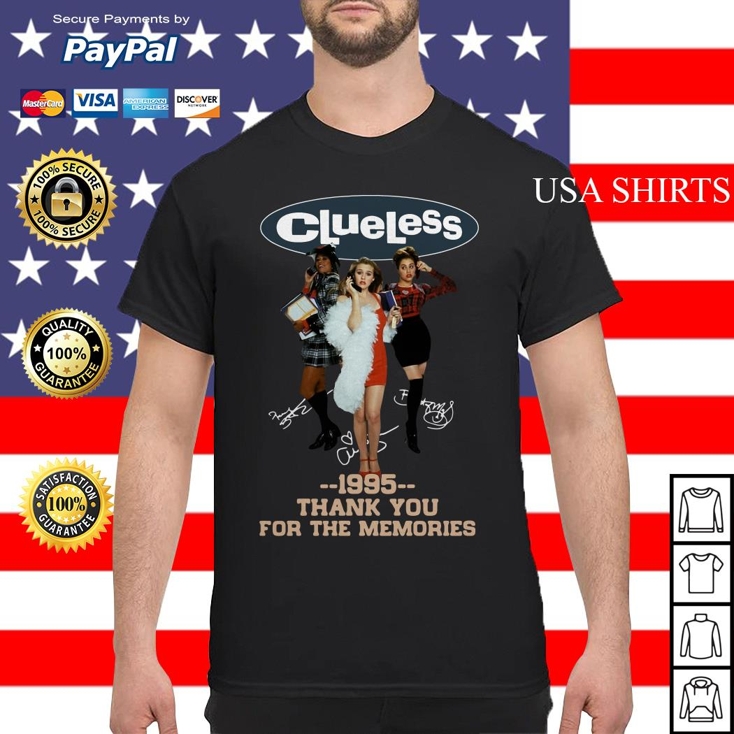 Clueless 1995 Thank You For The Memories Shirt