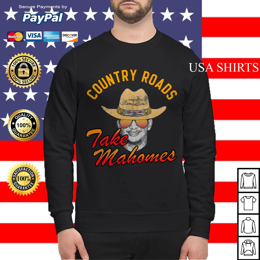 Country Roads take Mahomes Sweater