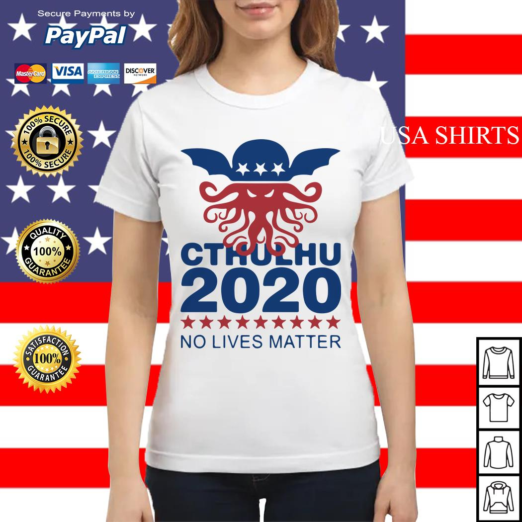 Cthulhu 2020 No Lives Matter Ladies tee