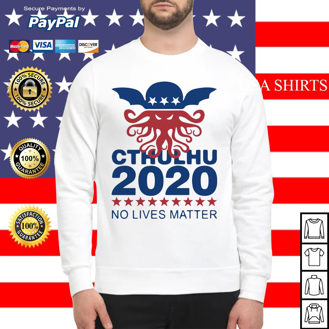 Cthulhu 2020 No Lives Matter Sweater
