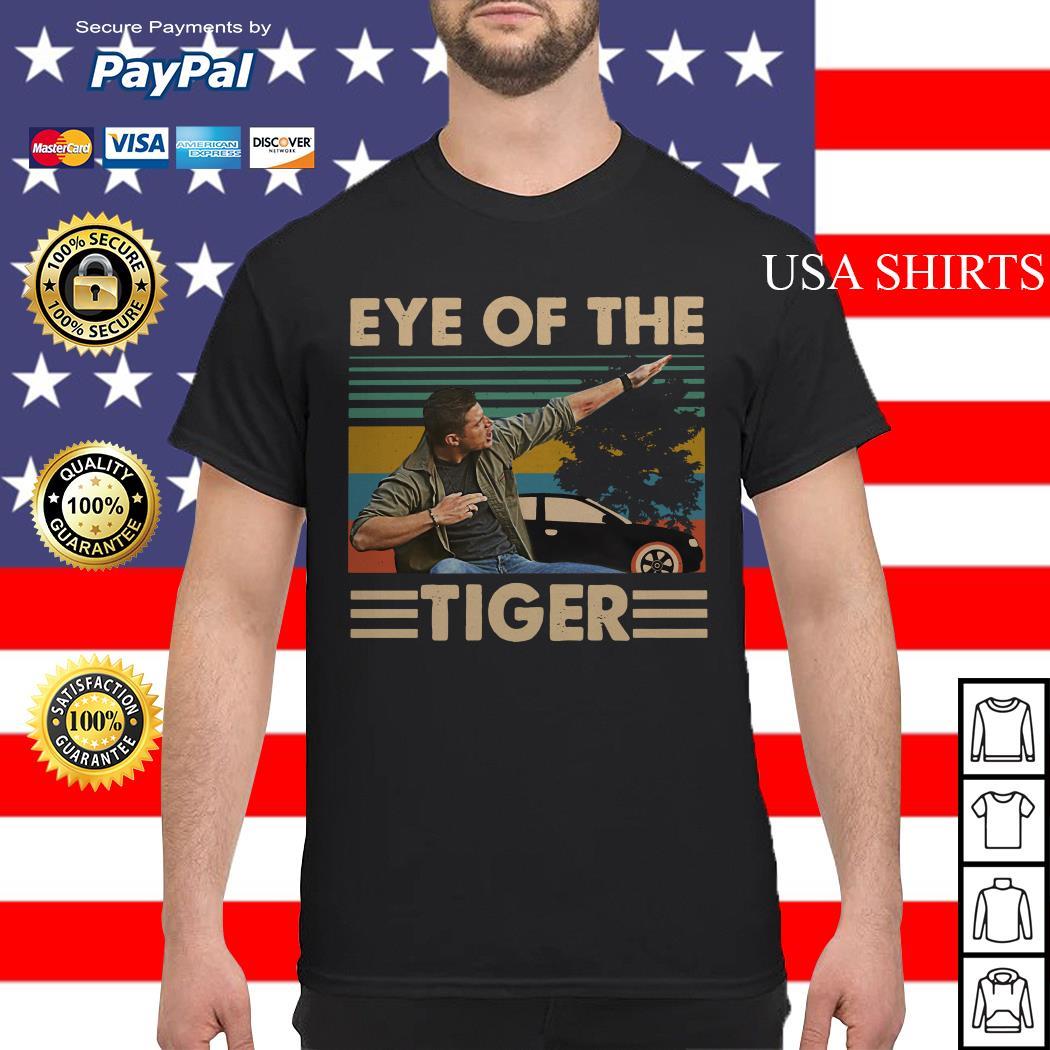 Dean Winchester Supernatural Eye of the tiger vintage shirt